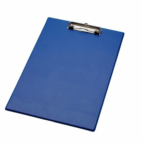 LPC klembord A4 Folio met tas blauw