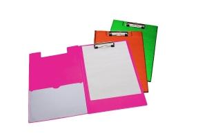 Klemmap LPC A4 Folio met penlus en hoes