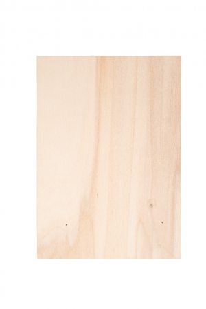 Houten bord blank zonder klem
