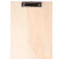 Klembord hout blank met klembordklem